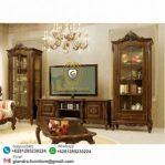 Set Bufet TV Hias Jati Mewah Diora