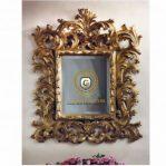 Pigura Cermin Ukir Mewah Rococo