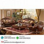 Set Sofa Tamu Jati Mewah Brunello