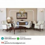 Set Sofa Tamu Klasik Modern Andrea