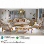 Sofa Set Tamu Ukir Klasik Mewah Kralasik
