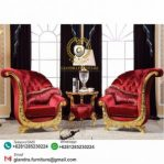 Set Sofa Teras Klasik Mewah Kipas