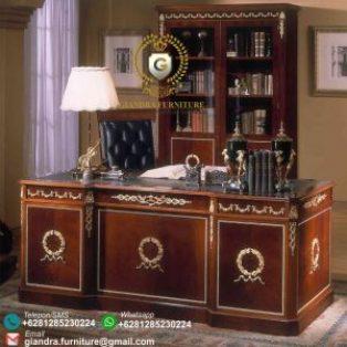 Meja Kantor Ukir Mewah Davozzi