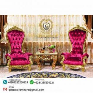 Set Kursi Teras Klasik Mewah Throne