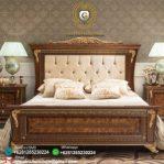 Tempat Tidur Jati Klasik Mewah Almaz