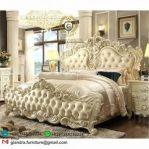 Tempat Tidur Klasik Mewah Visco