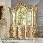 Lemari Hias Ukir Mewah Baroque