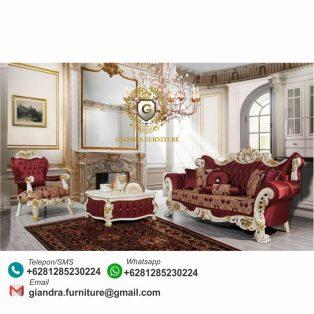 Set Sofa Tamu Klasik Mewah Hivalras