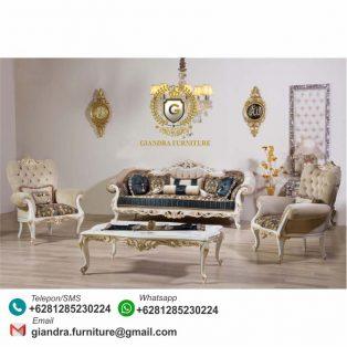 Set Sofa Tamu Klasik Mewah Hurrem