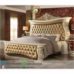 Tempat Tidur Ukir Mewah French Royal