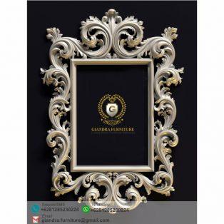Cermin Ukir Klasik Mewah Girona