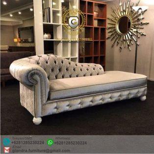 Sofa Santai Klasik Modern Chesterfield