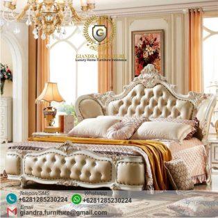Tempat Tidur Klasik Mewah Shera