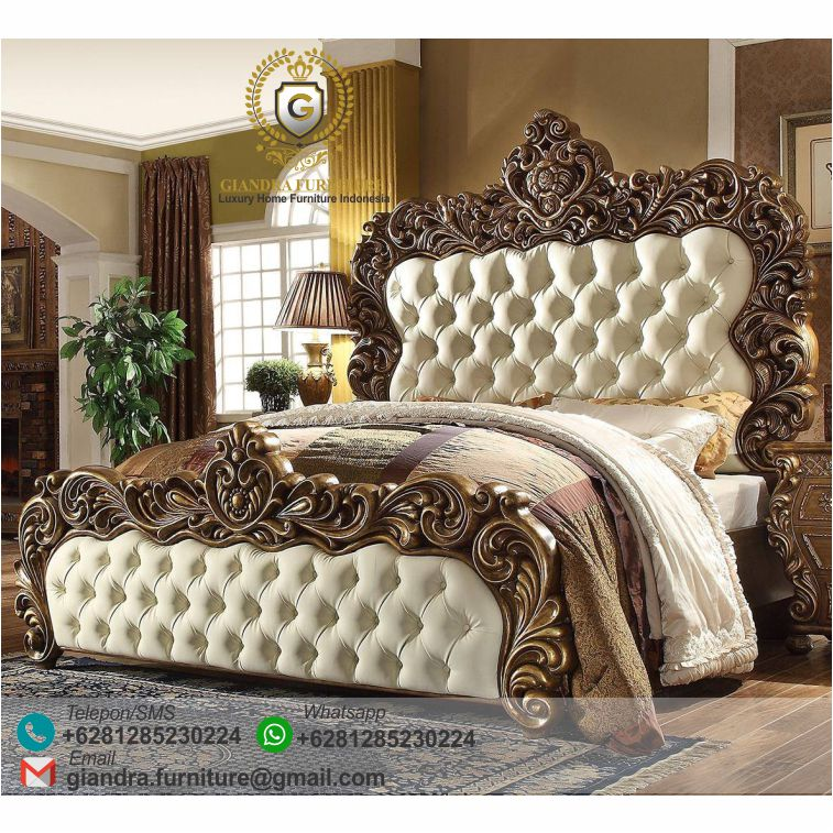 Tempat Tidur Ukir Mewah Venom Dipan Jati Mewah Furniture Jati Jepara Furniture Ukir Klasik Mewah Jepara