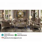 Set Sofa Tamu Klasik Mewah Dresden
