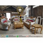 Set Sofa Tamu Klasik Mewah Rossalio
