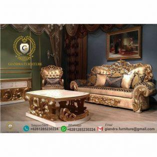 Set Sofa Tamu Ukir Mewah Bulgari