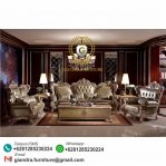 Set Sofa Tamu Ukir Royal Barcelona