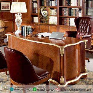 Meja Kantor Eksekutif Jati Bollari